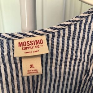 Mossimo Supply Co. Tops - Blue Striped Crop Top